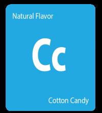 cotton candy - natural flavor - getamericanna