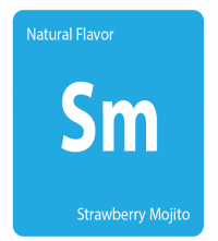 strawberry mojito - natural flavor - getamericanna