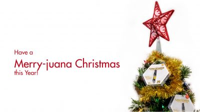 Have a merry-juana Christmas this year - getamericanna