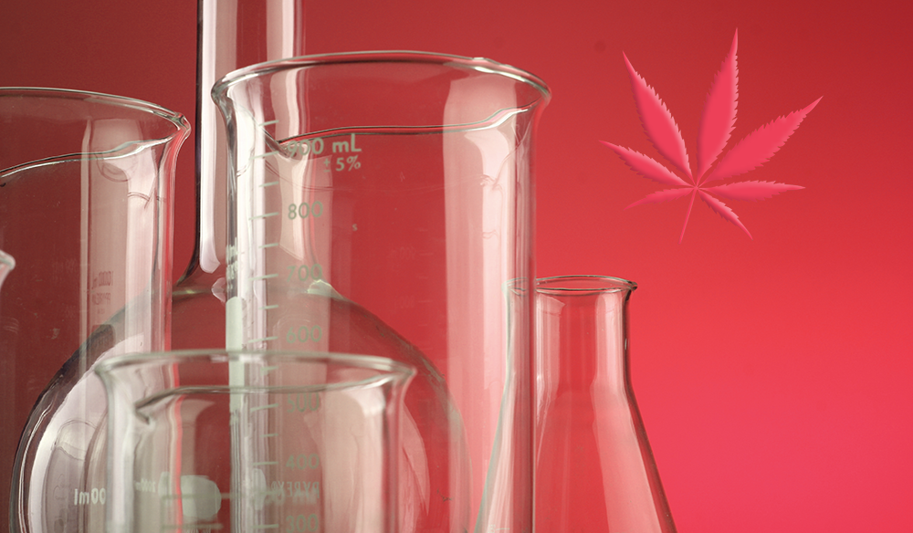 Americanna blog - Cannabinoids list information THC CBD CBN CBC cannabis marijuana weed chemicals beakers science information education
