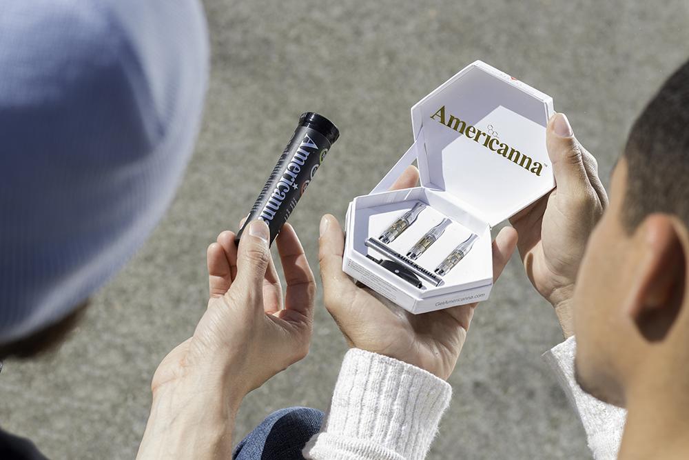 Americanna - vape pen cartridges - super silver haze