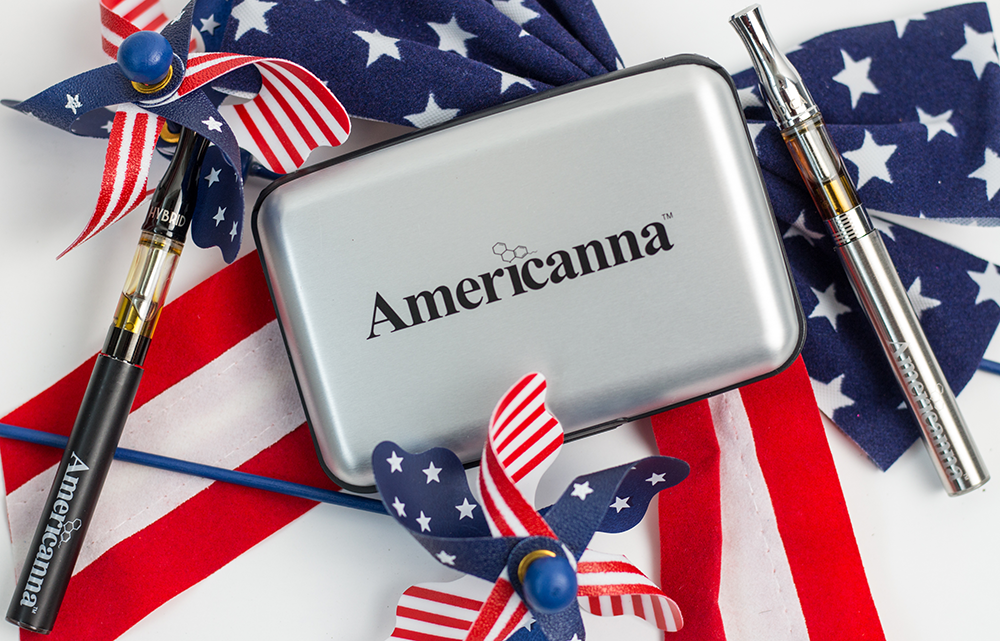 Americanna blog - keep america beautiful month vape pen cannabis weed marijuana concentrate extract distillate pure brand american made america