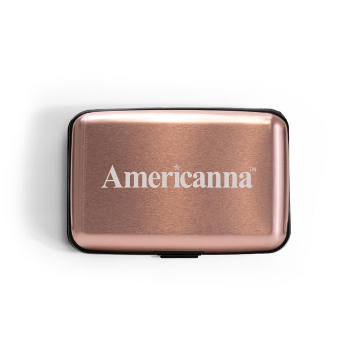 Americanna travel case in rose